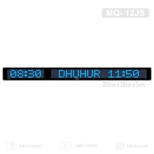 Jam Sholat MQ- 12JS