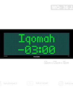 Jam Sholat MQ - 36 JA