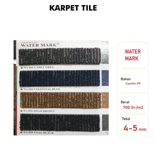 Karpet Tile Water Mark